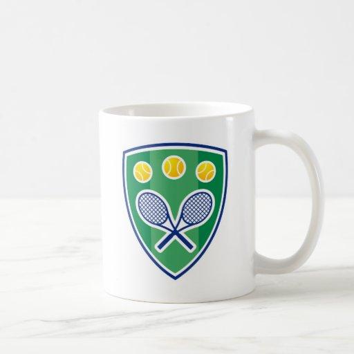 Personalized tennis coffee mug