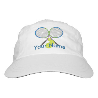 Personalized Tennis Crossed Rackets Headsweats Hat