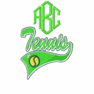Personalized Tennis Embroidered Shirt