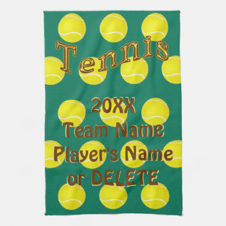 Personalized Tennis Gifts, Custom Tennis Towels at Zazzle