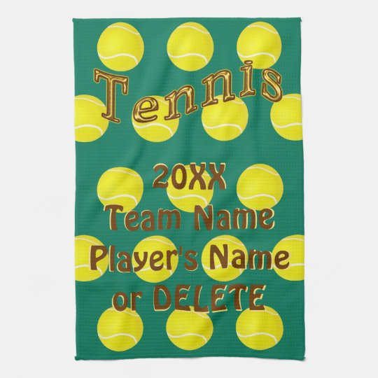 Personalized Tennis Gifts, Custom Tennis Towels
