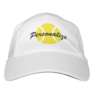 Personalized tennis hat for players and coach