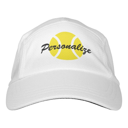 8ce5e0c660b Personalized tennis hat for players and coach