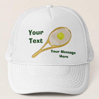 Personalized Tennis Hats for Men and Women