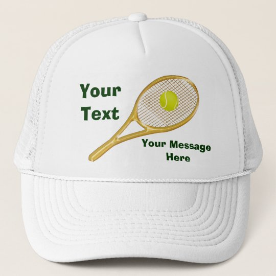fda9232c870 Personalized Tennis Hats for Men and Women