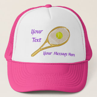 Personalized TENNIS Hats for Women