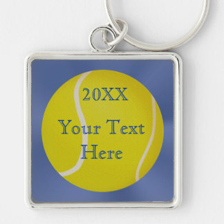 PERSONALIZED Tennis Keychains for Men