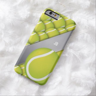 Personalized Tennis Pattern Barely There iPhone 6 Case