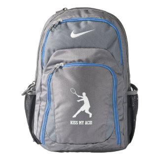 Personalized tennis player logo Nike backpack
