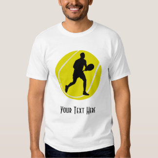 Personalized Tennis Player Tee Shirt
