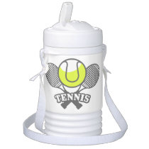 Personalized Tennis Star beverage cooler