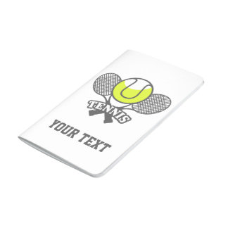 Personalized Tennis Star Journal