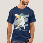Personalized Tennis Tee shirt for men