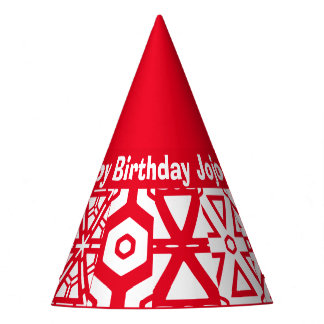 Personalized Text Birthday Name (Jojo) Party Hat