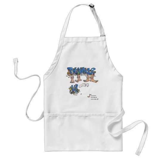 Personalized Thank You Adult Apron