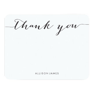 Personalized Thank You Cards Personalized Invite