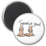 Personalized Thank You Gift Refrigerator Magnets