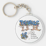 Personalized Thank You Keychain