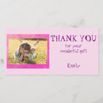 Personalized Thank you Photo
