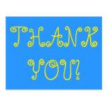 """[ Thumbnail: Personalized """"Thank You!"""" Postcard ]"""