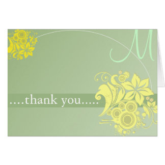 Personalized Thanks Card