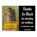 """[ Thumbnail: Personalized """"Thanks So Much"""" Postcard ]"""