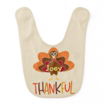 Personalized Thanksgiving Bib