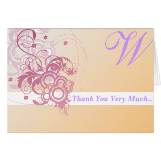 Personalized Thankyou Card