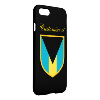 Personalized The Bahamas Flag iPhone 7 Case