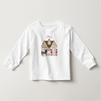 Personalized The Pretty Ponies House Horse Shirt