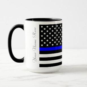 08871f40ddf Thin Blue Line Coffee   Travel Mugs