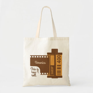 Personalized This Is How I Roll Camera Film Tote