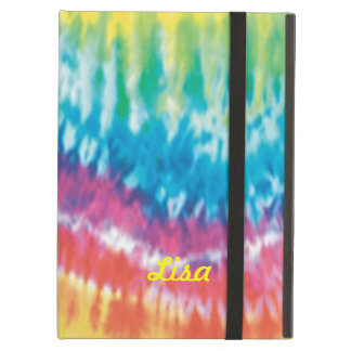 Personalized Tie Dye iPad Case