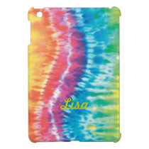 Personalized Tie Dye iPad Mini Case