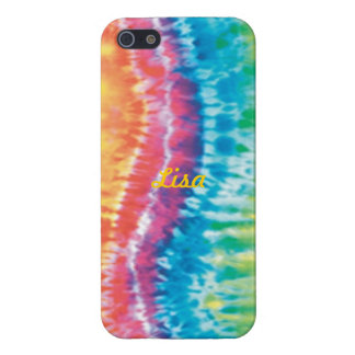 Personalized Tie Dye iPhone 5 Case