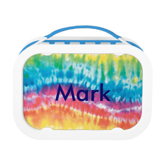Personalized Tie Dye Lunch Box