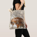 Personalized Tiger Family Tote Bag