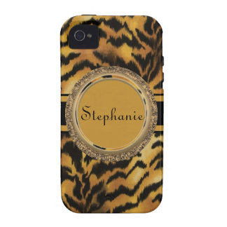 Personalized Tiger iPhone 4/4S Vibe Universal Case iPhone 4 Cases