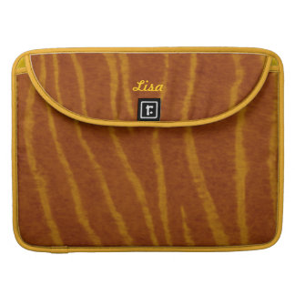 Personalized Tiger Macbook Sleeve