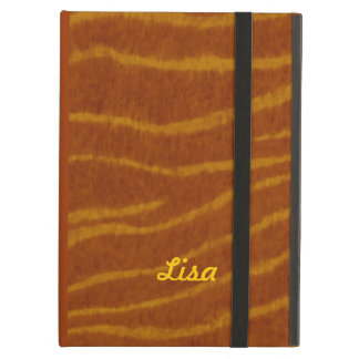 Personalized Tiger Print iPad Case