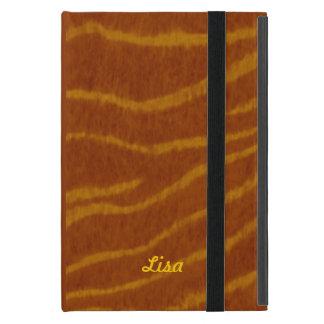 Personalized Tiger Print iPad Mini Case