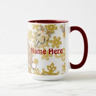 Personalized Tinsel Martzkin Mug