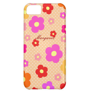 Personalized Tiny Cute Flowers A Cover For iPhone 5C