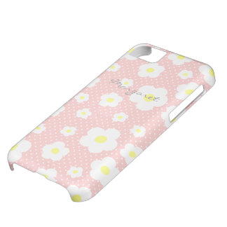 Personalized Tiny Cute Flowers C Cover For iPhone 5C