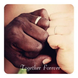 "Personalized ""Together Forever"" Add a Photo Card"
