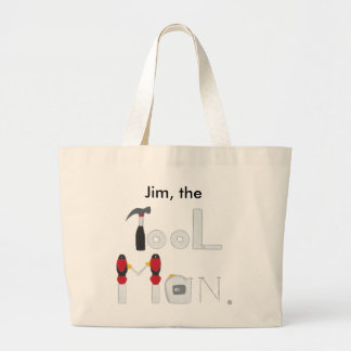 Personalized Tool Man Tote Bags for Him