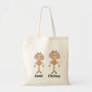 Personalized tote bags with kid's names MOM GIFT