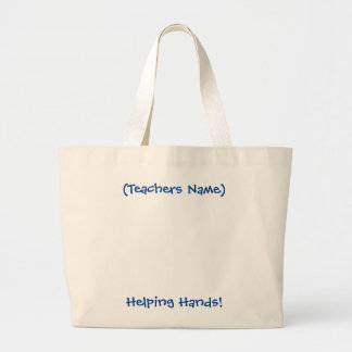 Personalized Tote for Teachers