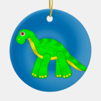 Personalized Toy Dinosaur Ornament