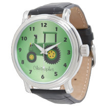 Personalized Tractor Design Watch